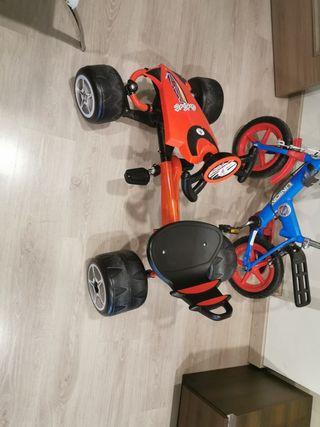 coche pedales niño