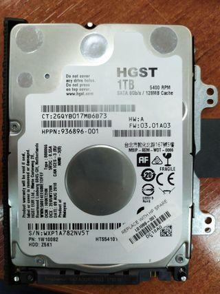 Disco duro Hitachi 2.5 1TB
