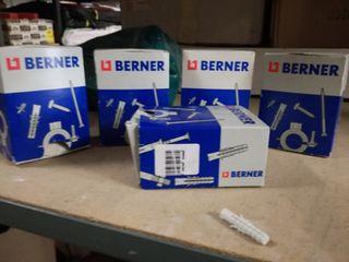 Tacos Berner 8 x 40 mm (6 cajas,100 unidades caja)