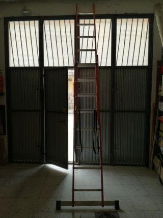 Escalera doble altura