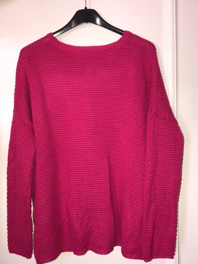 Jersey rosa fuerte