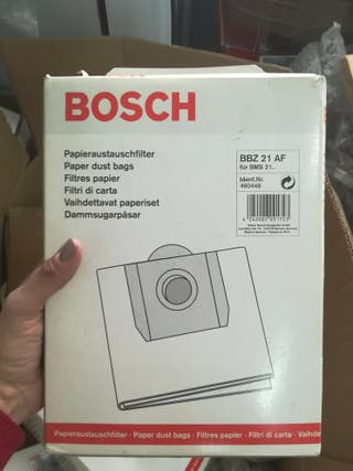 bolsas aspirador Bosch