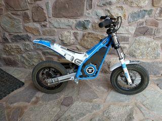 Moto eléctrica trial Torrot t10