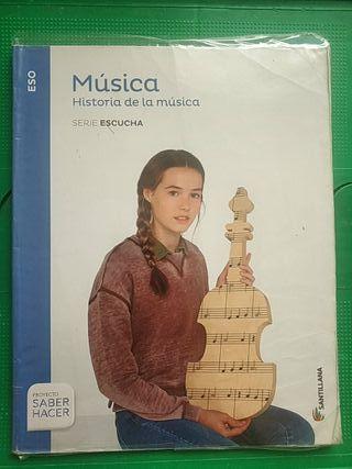 Libro Música (Historia de la música) 3ESO