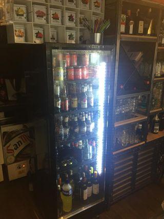 Camara frigorífica HSC360 negro.