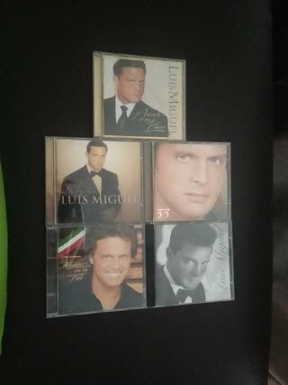 Pack de 5 discos originales Luis Miguel