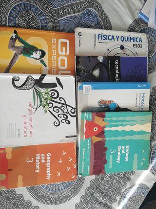 Libros 3 de la ESO Torreon