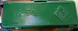 cortadora de azulejos rubí TS 50