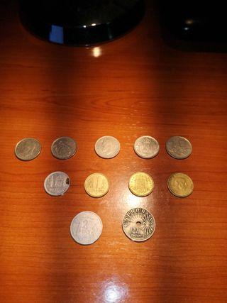 Monedas y billetes españoles
