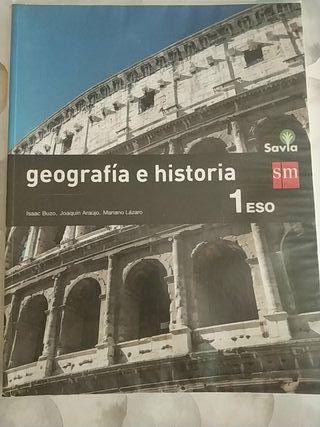 Libro Geográfia e Historia 1 ESO