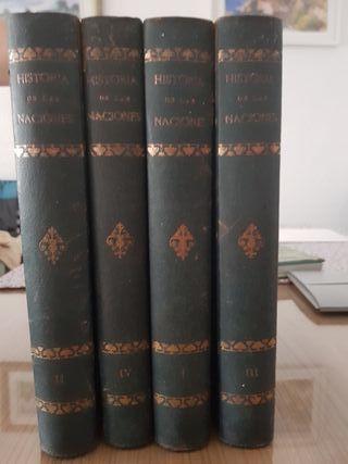libro antiguo historia de las naciones