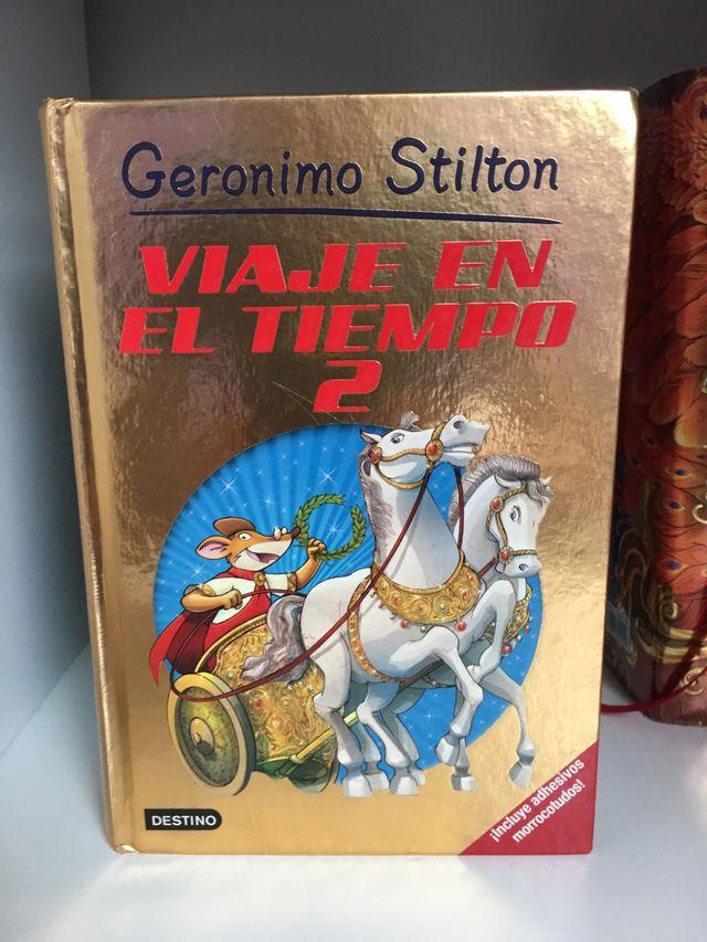 Lote Geronimo Stilton Viaje en el tiempo
