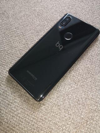 móvil bq x2 pro en color negro 64 gigas