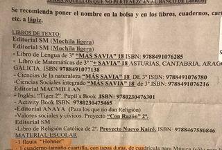 LIBROS TERCERO DE PRIMARIA
