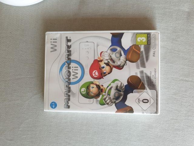 Juego Mario Kart para Wii con Volante