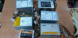 lote fuentes alimentación PC