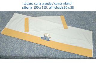 sábana cuna / cama infantil