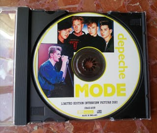 DEPECHE MODE - Limited edition picture disc. Cd
