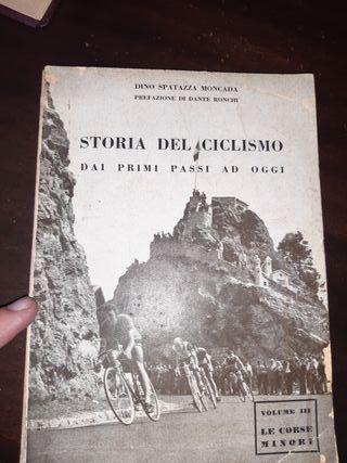 libro antiguo historia del ciclismo