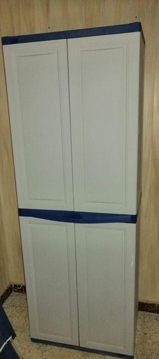 armario de pvc con separadores