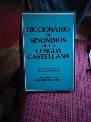 Libro diccionario de sinonimos