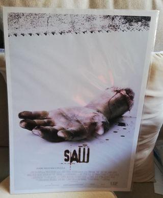 Póster de la saga SAW. NUEVO