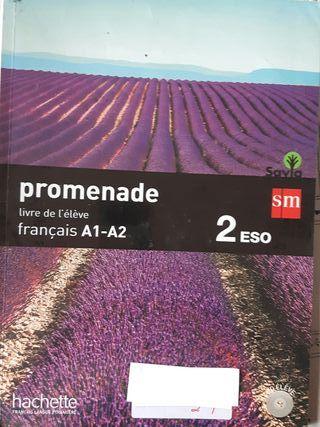 libro francés 2°ESO de la UNI