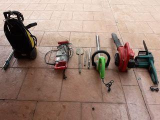 karcher martillo compresor sopladora cortacesped