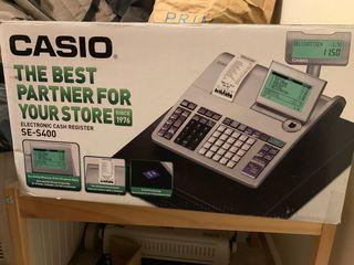 Registradora cumple normativa iva Casio SE S400
