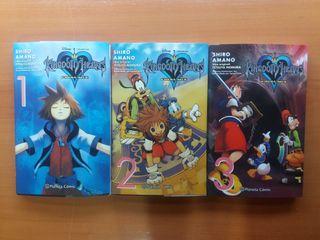 kingdom Hearts Final Mix mangas/ cómics.
