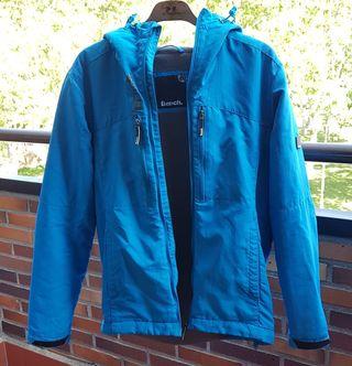 Abrigo Bench azul celeste talla M