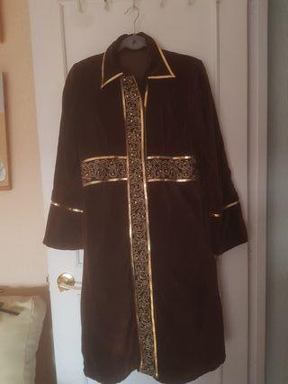 abrigo de terciopelo