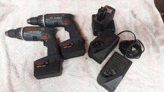 atornilladores Bosch taladro batería