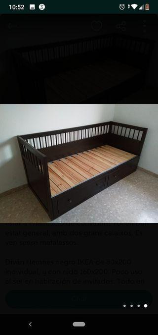 Cama nido Hemmes Ikea