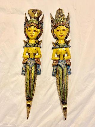 Pareja de Dioses Balineses.