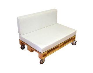 Sofa palets para jardín o terraza