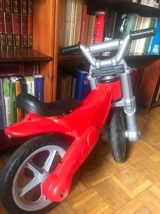 Bicicleta sin pedales niño niña 2-5 anos