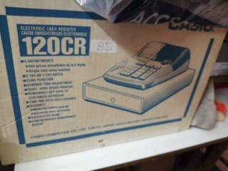 Caja registradora electronica Casio