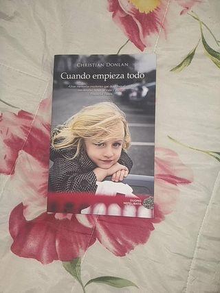 """Libro nuevo: """"Cuando empieza todo"""""""