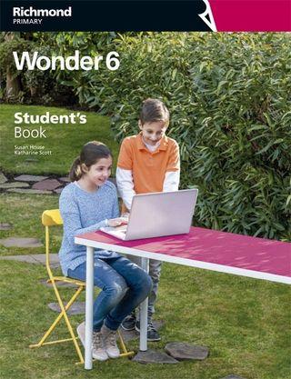 Libro Ingles 6º primaria Wonder Richmond