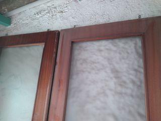 Puertas antiguas de cristal transulido correderas