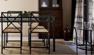 conjunto sillas y mesa ikea grana