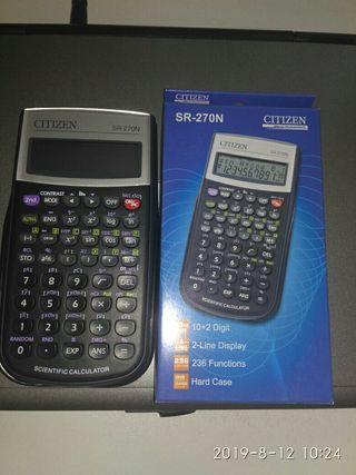 Calculadora científica citizen sr 270n