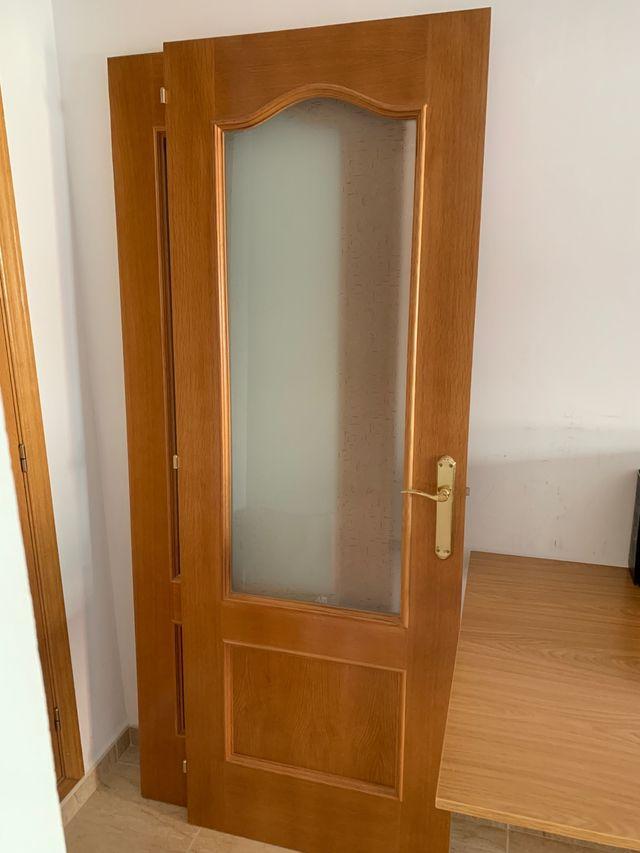 Puerta doble para comedor de segunda mano por 75 € en ...