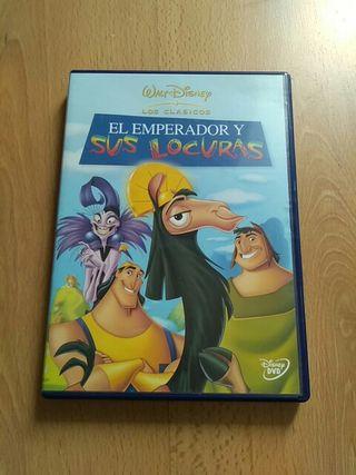 """Película infantil. """"El emperador y sus locuras"""""""