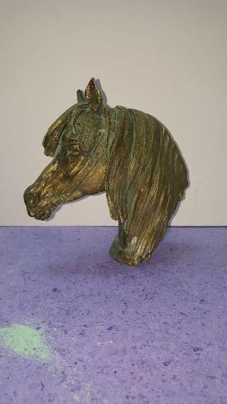 Busto Caballo Imitación bronce