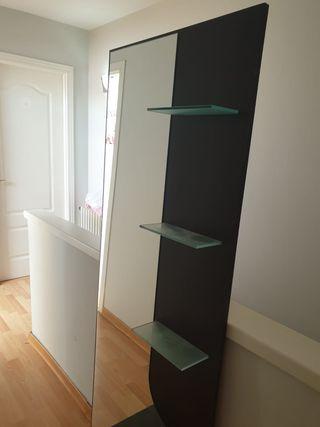 Recibidor mueble espejo