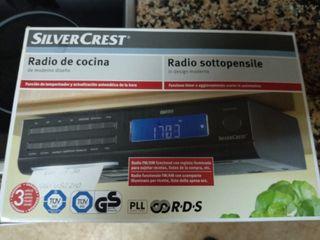 Radio reloj de cocina