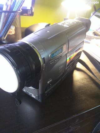 video cámara vhs grundiglivance 220x digital zoom