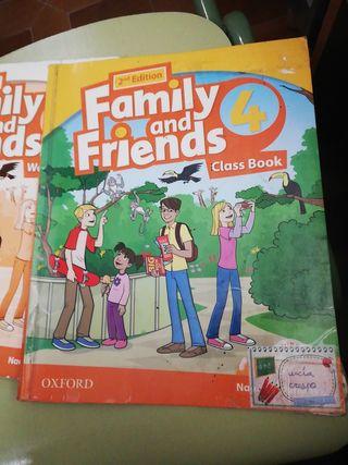 libro Family Friends 4 primaria
